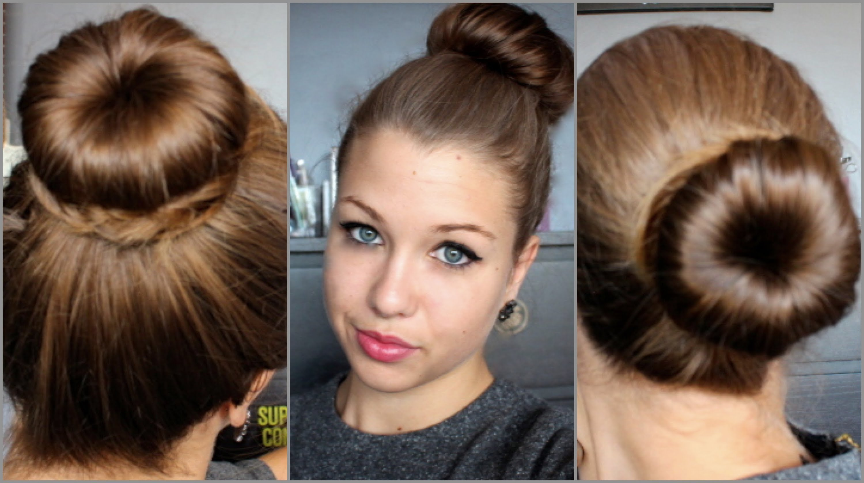 façons-styles-chignon-donut