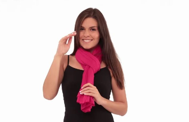 10 façons mettre foulard