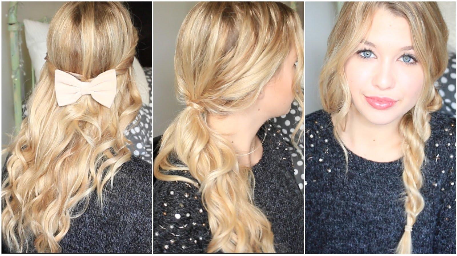 3 Coiffures Pour Cheveux Boucles Phaneres Com